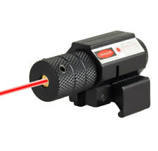 835-655nm Mini Red Dot Laser Sight Scope Adjustable with 11mm/20mm Rail Mount