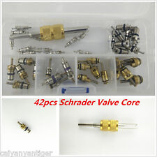 41×R134a/R12 Air Conditioning Assortment A/C Schrader Valve Core Remover &Tool