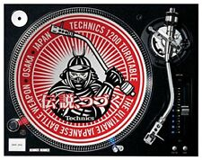Technics Samurai feutrine pour DJ