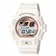 G-SHOCK MINI (GEE SHOCK MINI) GMN-691-7BJF WHITE / PINK GOLD WITH TRACKING