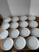 IMPERIAL CHINA by DALTON WILD FLOWER 745 Saucer Bundle Of 15