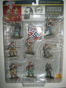 Conte collectibles A C W confederates set 1 mint in box painted 2003 in 8 poses