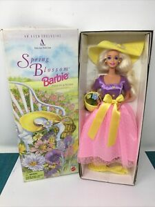 Avon Exclusive 1995 Special Edition Spring Blossom Barbie 1st In a Series