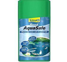 TETRA POND AQUASAFE - (500ml) - Fish Aqua Safe Pet Tap Water Treatment bp Bottle