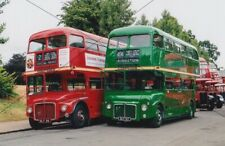 BUS PHOTO, LONDON TRANSPORT PHOTOGRAPH PICTURE, ROUTEMASTERS