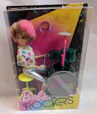 Barbie and the Rockers Drummer Doll w/ Afro 2017 Target Exclusive MIB