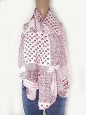 armata di mare sciarpa foulard uomo bianco rosso made italy
