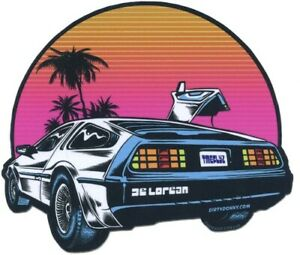 Time Flyz STICKER Decal Dirty Donny DD85 Delorean