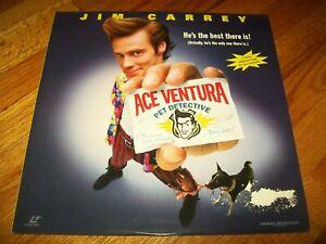 ACE VENTURA: PET DETECTIVE Laserdisc LD WIDESCREEN FORMAT VERY GOOD JIM CARREY!