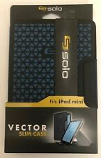 Solo Vector Slim Case Fits Ipad Mini 4-#ACV239-20-RARE VINTAGE-SHIPS N 24 HOURS
