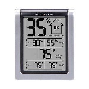 AcuRite 00613 INDOOR Humidity Temperature Thermometer Hygrometer Monitor