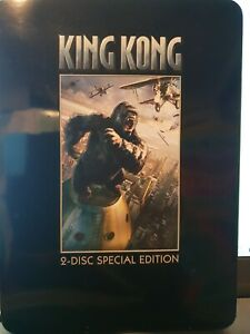 KING KONG Special Edition Steelbook  DVD (2 Disc Set) R4