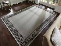 Florence Lorenzo Silver Grey Alfresco Flatweave Rug in various sizes