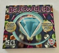 Bejeweled PC CD-ROM Video Game Computer Puzzle Jewel Treasure