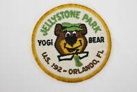 Vintage Jellystone Park Yogi Bear US 192 Orlando Florida Shirt Trucker Hat Patch