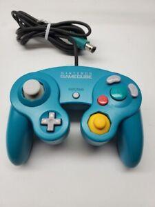Nintendo Gamecube Controller - Emerald Blue RARE! OEM | AUTHENTIC | TESTED