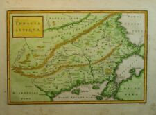 Antique Map of Thrace and Northern Greece by Christoph Cellarius 1789