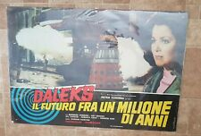 Dr WHO (DALEKS: INVASION EARTH 2150 AD)  Original 1967 Italian Poster