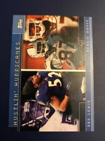 2001 Topps #TC19 RAY LEWIS & REGGIE WAYNE RC ROOKIE WR Ravens Colts Look