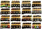 12 Pairs of Mens Designer Socks, Cotton Rich Designs by SockStack, Size 6-11 <br/> Stripe, Argyle, Black Logo Design Socks, Gift For Him