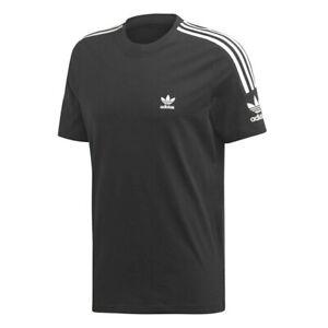 T-shirt Uomo Adidas Originals Nero Classica Regular Cotone Adicolor Morbida