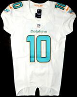 MIAMI DOLPHINS #10 KENNY STILLS 2014 TEAM/PLAYER ISSUED WHITE NIKE JERSEY Sz. 40