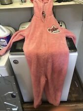 Deranged easter bunny costume from A christmas story Movie Pink Rabbit Body Suit