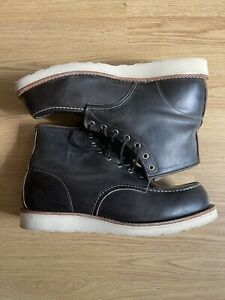 Red Wing Size 10 Moc Toe Boot - Charcoal