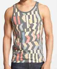 ($55) NWT DEUS EX MACHINA TANK SIZE S OINGO MULTI COLOR SURF TEE
