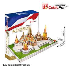 New Wat Phra Kaew Thailand 3D Model Jigsaw Puzzle 152 Pieces MC124H