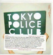 (AB843) Tokyo Police Club, Cheer It On - DJ CD