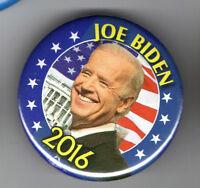 2016 pin JOE BIDEN pinback for President VICE PRESIDENT