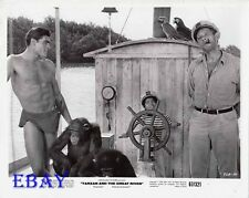 Mike Henry barechested VINTAGE Photo Tarzan And The Great River