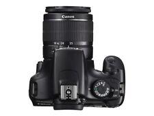 Canon EOS 1100D 12.0MP Digital SLR Camera - Black (Kit w/ EF-S 18-55mm