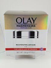 Olay Magnemasks Infusion Rejuvenating Jar Mask 4.5 oz. for Fine Lines New Sealed