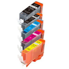 5 New Ink Pack w/ smart chip for Canon 225 226 MG5220 MG5320 MX882 MX892