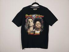 2014 Drake Vs. Lil Wayne Tour T Shirt Men's Medium