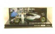 1/43 MINICHAMPS 410160806 MERCEDES AMG F1 W07 Worldchampion 2016 Rosberg