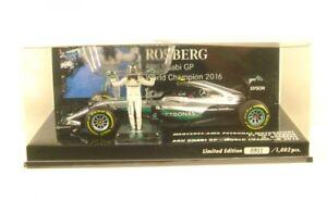 Mercedes AMG F1 Team W07 Hybrid No.6 Abu Dhabi Gp - Formula 1 World Champion 201