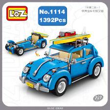 LOZ Car Model 2-in-1 Volkswagen Beetle DIY Mini Blocks Diamond Nano Building Toy