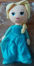 "Disney Store Queen Elsa 20"" Plush Doll Soft Toy"