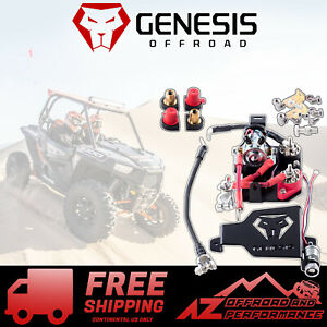 Genesis Offroad Dual Battery Kit Isolator For 14-20 Polaris RZR XP 1000 & Turbo