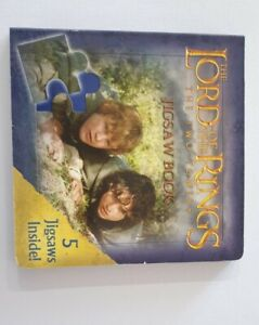 Awesome Lord of the Rings The Two Towers Jigsaw Book - Informative and Fun!