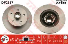 Bremsscheibe (2 Stück) - TRW DF2587