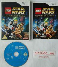 LEGO STAR WARS THE COMPLETE SAGA (Wii) /U=PLAY ALL 6 MOVIES I+II+III+IV+V+VI=NM✔