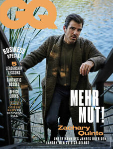 GQ 2020/11 Zachary Quinto Magazine Germany RARE NEW