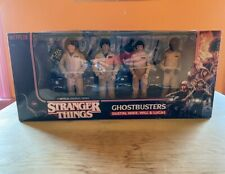 Stranger Things Ghostbusters 4-Figure Pack Dustin Mike Will Lucas McFarlane New
