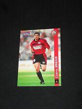 BARDON  RENNES STADE RENNAIS Carte football card FRANCE FOOT DS 1998-1999 panini