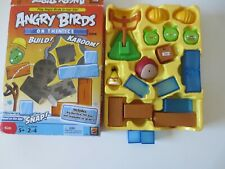 NEW open box  Angry Birds Board Game On Thin Ice Mattel Collectible Pigs TNT
