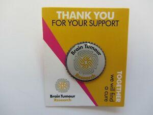 Logo Pin Badge - Brain Tumour Research